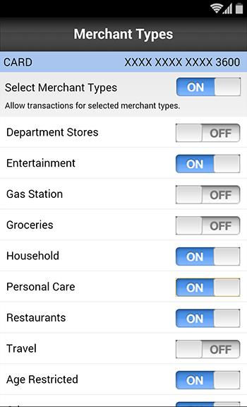 Merchant Types