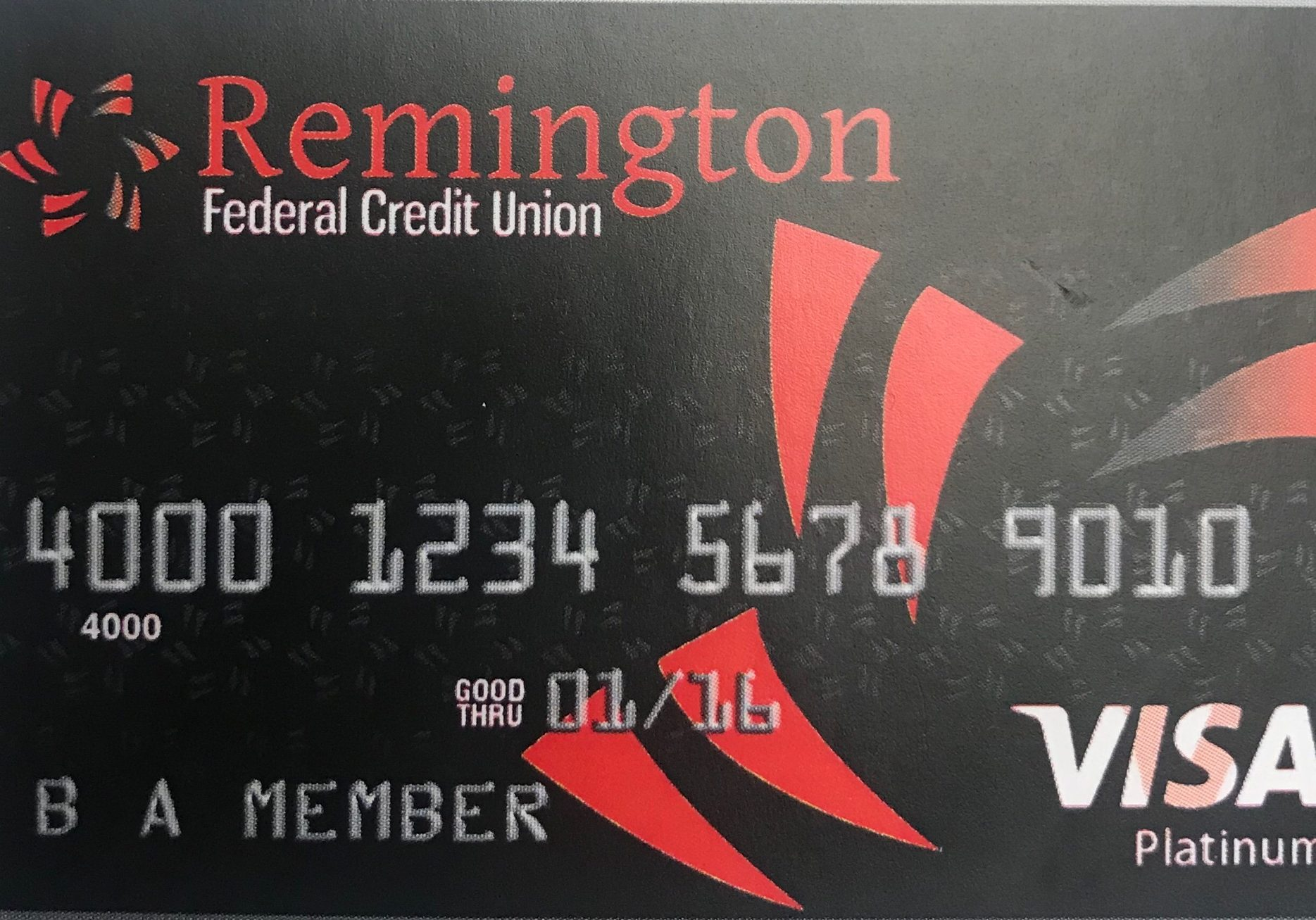 Remington credit card